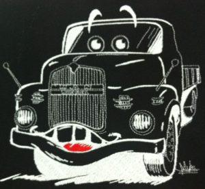 Camion filigrane