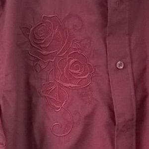 Détail chemise marié