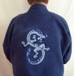 dragon sur kimono