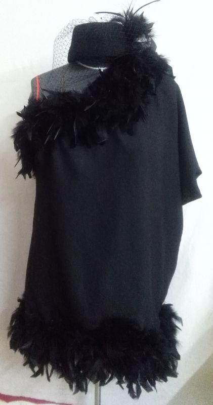 Création robe une épaule