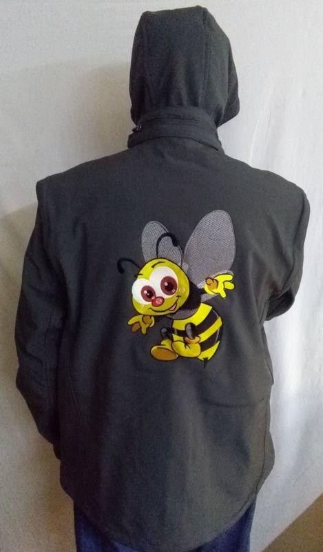 Dos apiculteur