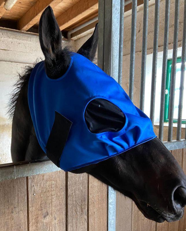 Masque sur mesure pour chevaux